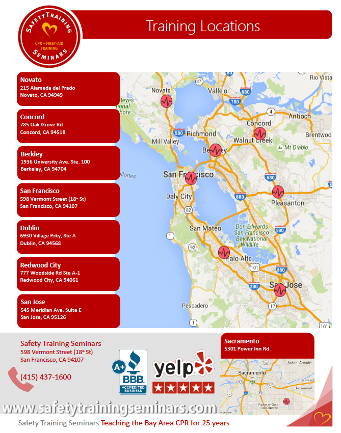Bay Area Aha Certification Classes By The American Heart