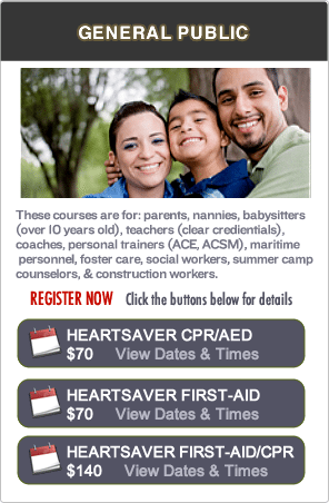 CPR Certification Classes in Oakland